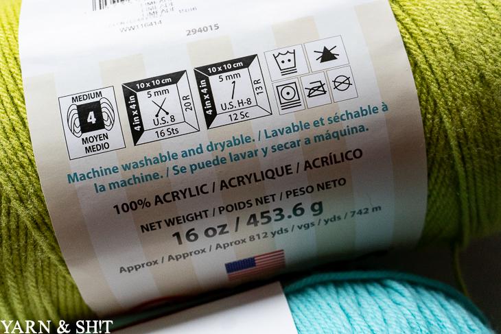 Caron One Pound Yarn Review