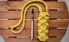 crochet vape lanyard free pattern